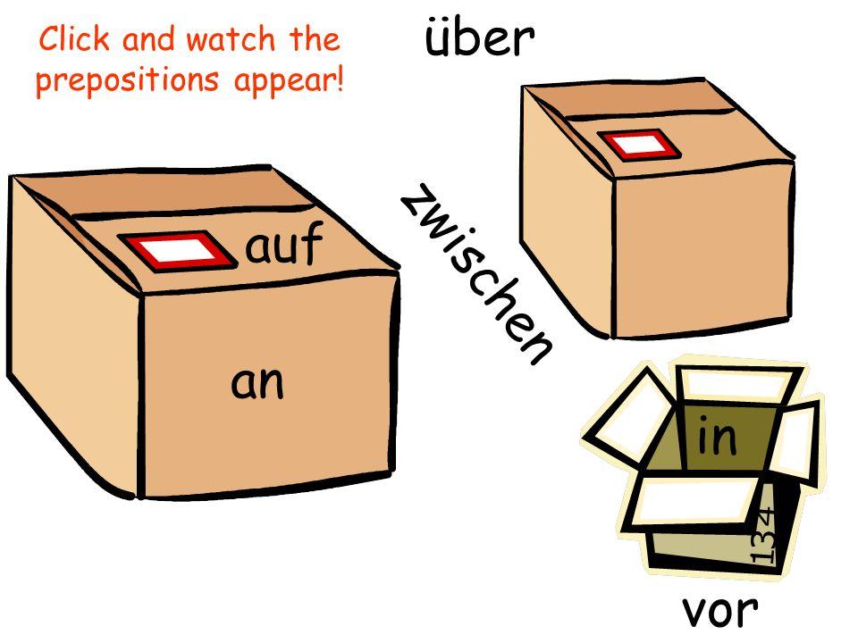 Other Prepositions mit für zu aus