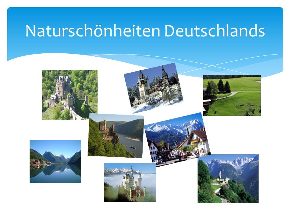 Naturschönheiten Deutschlands