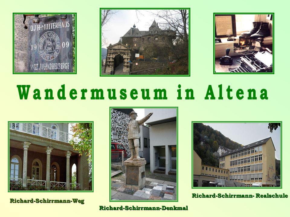 Richard-Schirrmann-Weg Richard-Schirrmann-Denkmal Richard-Schirrmann- Realschule