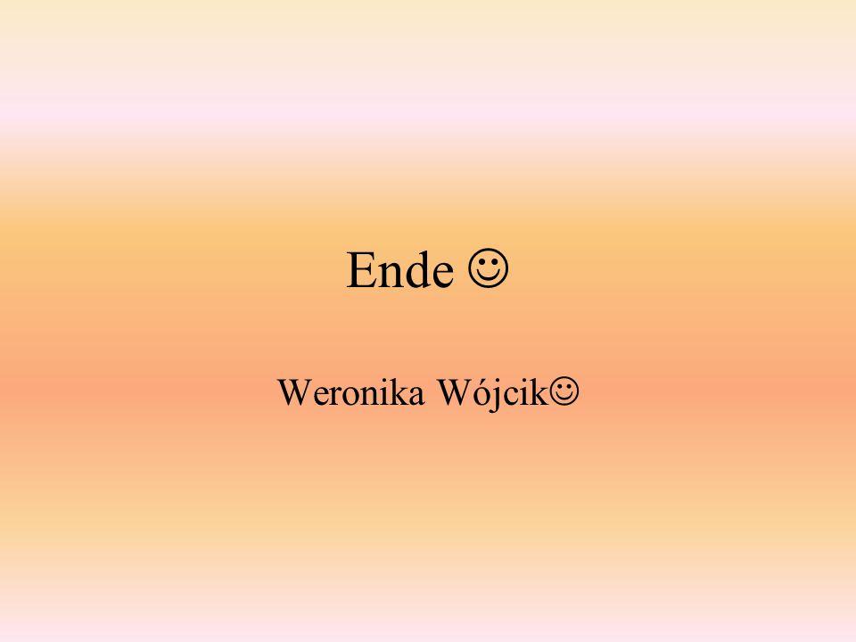 Ende Weronika Wójcik