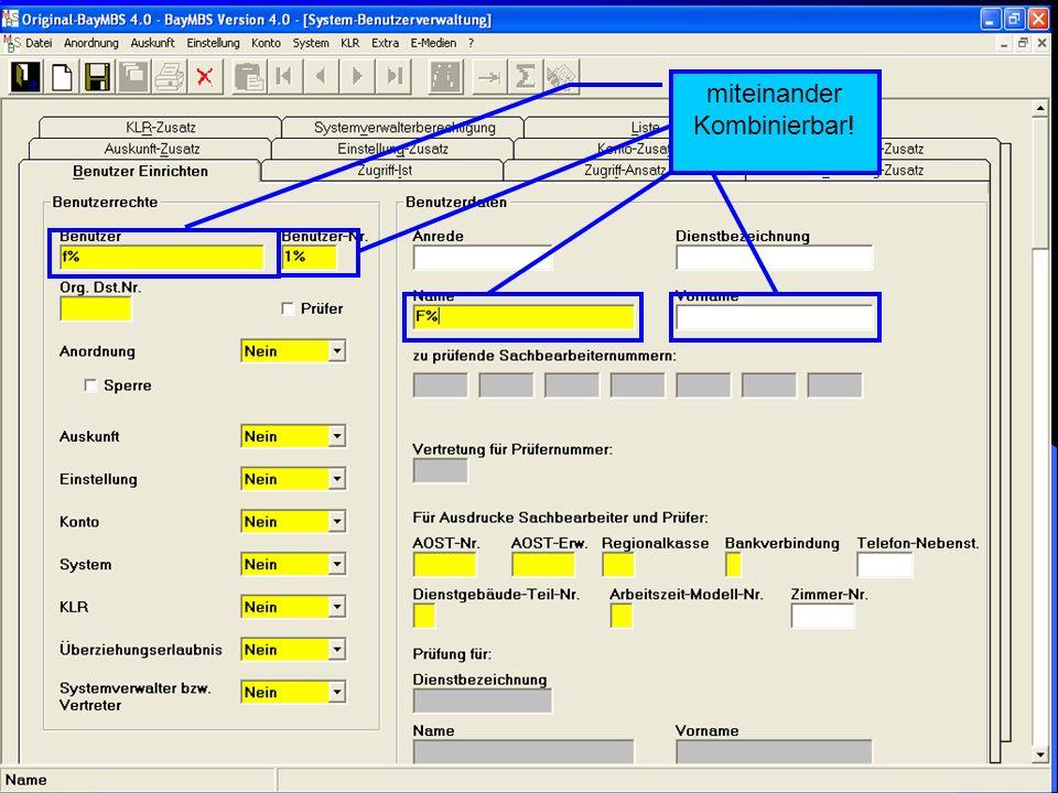 c/o Landesamt für Finanzen Regensburg 35 System: Stichproben- und Freigabeverfahren: Im Ausdruck des Freigabeprotokolls werden in der Übersicht der Pr