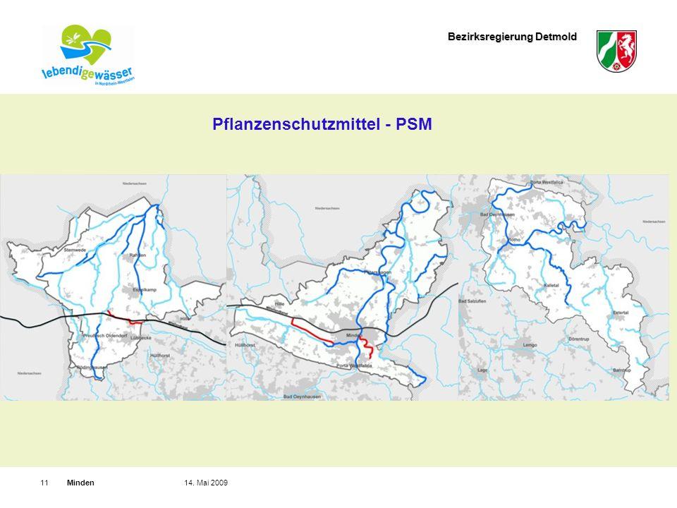 Bezirksregierung Detmold Minden1114. Mai 2009 Pflanzenschutzmittel - PSM