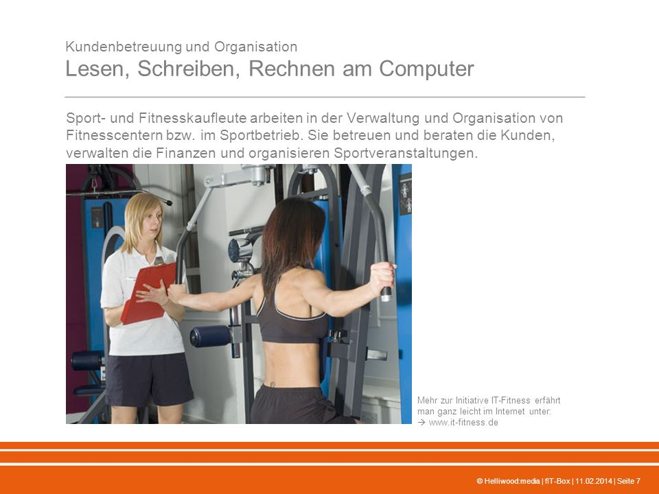 IT-Fitness Schlüssel für den beruflichen Erfolg Projektpräsentation ...