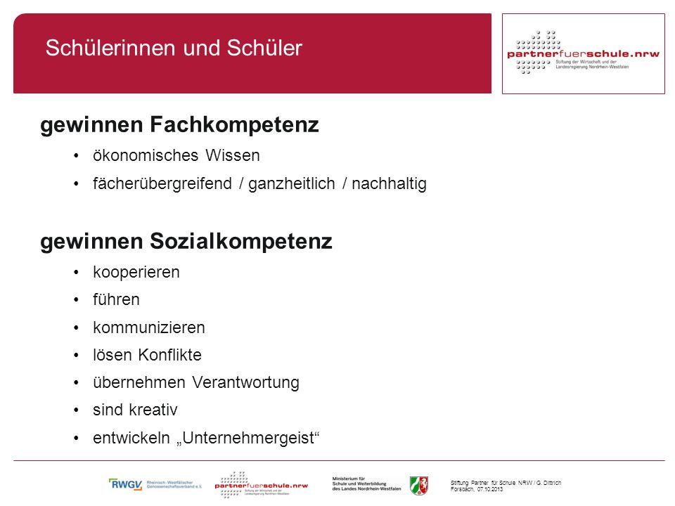 Stiftung Partner für Schule NRW / G.
