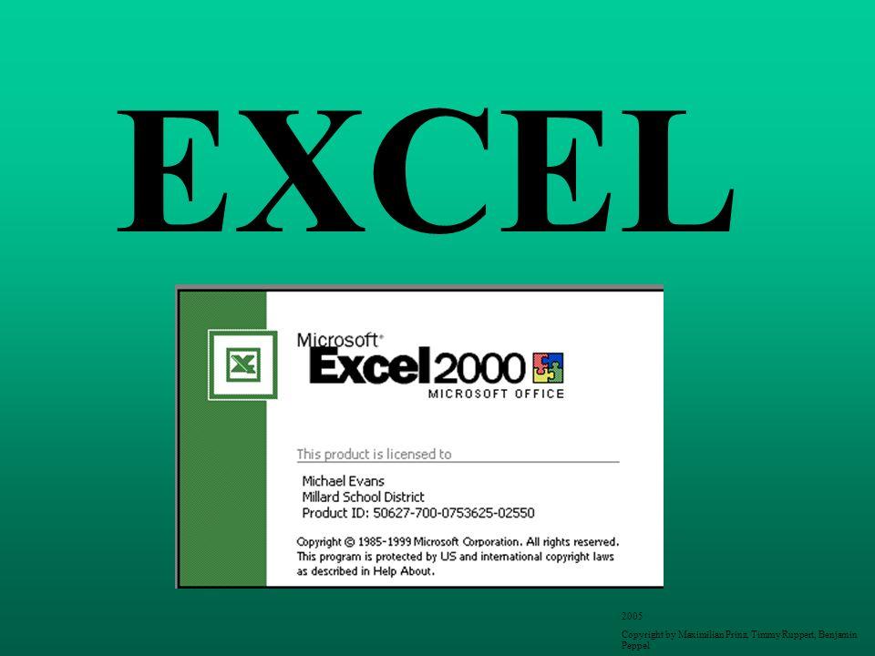 Erklärung Excel können Sie auf verschiedenste Arten nutzen, zum einen als Rechenprogramm, verschiedenster Rechnungen, und zum andern als Tabellenprogramm.
