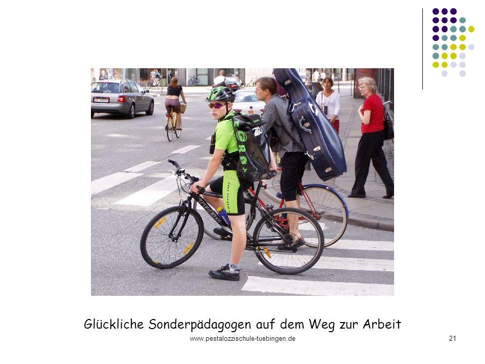 www.pestalozzischule-tuebingen.de21 Glückliche Sonderpädagogen auf dem Weg zur Arbeit