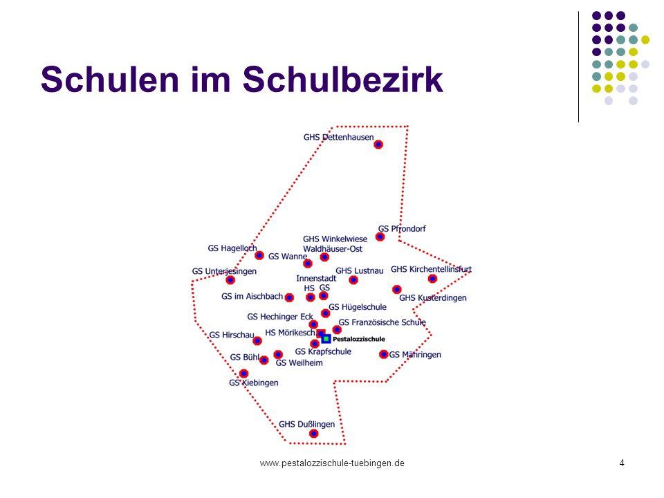 www.pestalozzischule-tuebingen.de4 Schulen im Schulbezirk