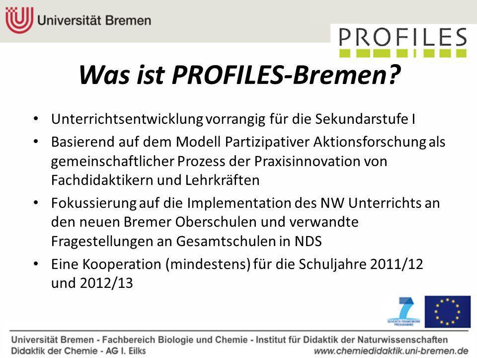 Was ist PROFILES-Bremen.
