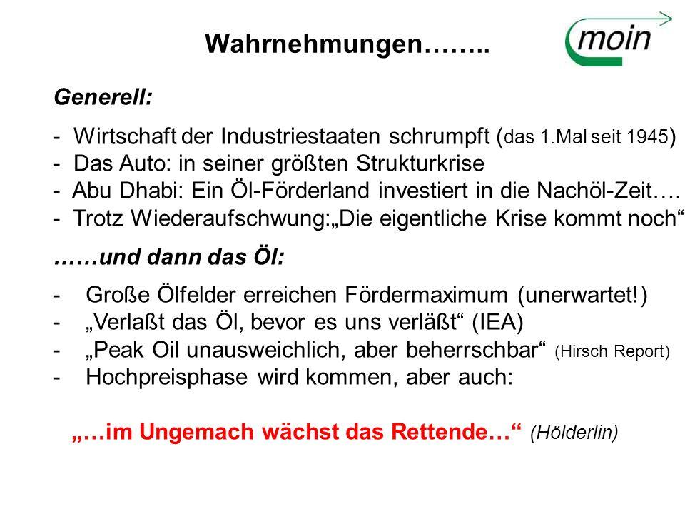 Es geht ums Öl: Treibstoff der Moderne Nachfrage (Nutzer) - VERKEHR (rd.