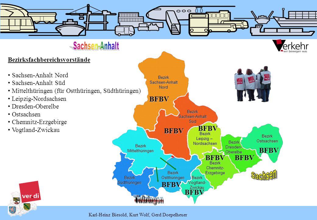 Karl-Heinz Biesold, Kurt Wolf, Gerd Doepelheuer BezirkSachsen-AnhaltNord BezirkSachsen-AnhaltSüd BezirkMittelthüringen Bezirk Leipzig – Nordsachsen Be