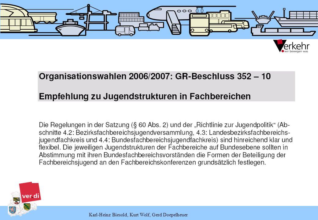 Bezirksstrukturen/Organe – Fachbereiche (§§ 52–53)