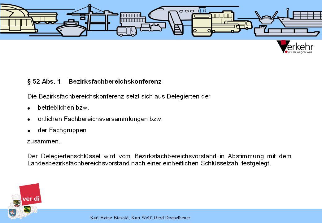 Karl-Heinz Biesold, Kurt Wolf, Gerd Doepelheuer BezirkSachsen-AnhaltNord BezirkSachsen-AnhaltSüd BezirkMittelthüringen Bezirk Leipzig – Nordsachsen BezirkChemnitz-Erzgebirge BezirkDresden-Oberelbe BezirkOstsachsen BezirkVogtland-Zwickau BezirkOstthüringen BezirkSüdthüringen 8.11.2006 25.11.2006 11.11.2006 28.10.2006 3.11.2006 30.09.2006 14.10.2006 18.11.2006 7.10.2006 14.10.2006 Termine der BezirkskonferenzenEbene
