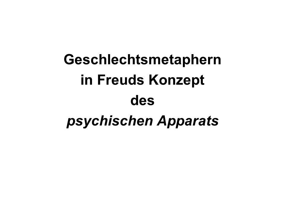 Geschlechtsmetaphern in Freuds Konzept des psychischen Apparats