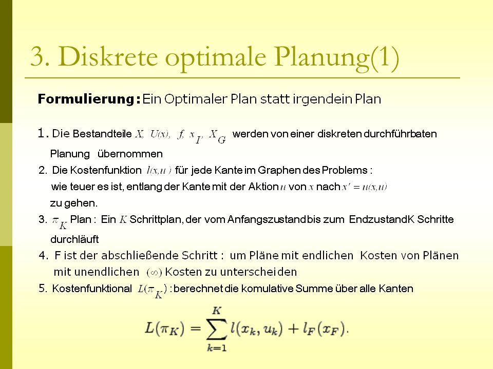 3. Diskrete optimale Planung(1)