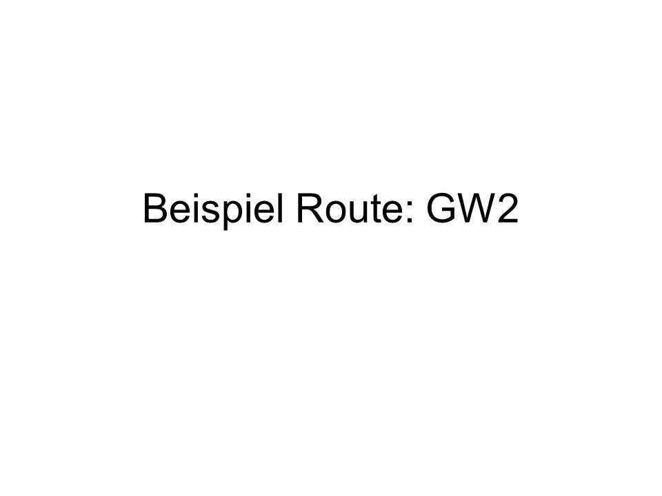 Beispiel Route: GW2