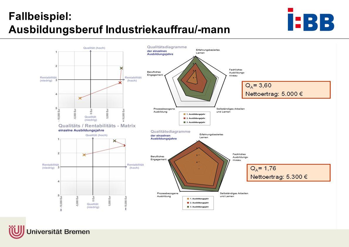 Prof. Dr. Felix Rauner Fallbeispiel: Ausbildungsberuf Industriekauffrau/-mann
