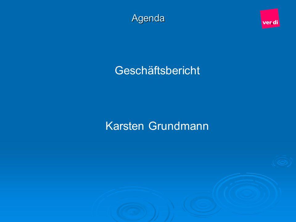 Agenda Geschäftsbericht Karsten Grundmann