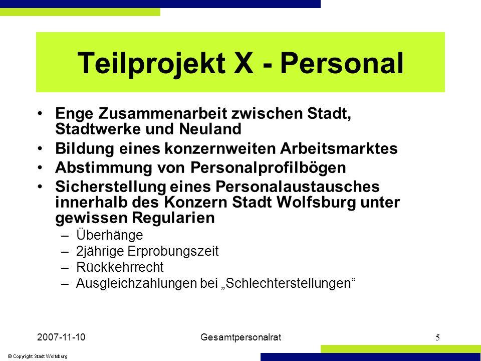 2007-11-10Gesamtpersonalrat6 Beteiligungen der Stadt Wolfsburg Stand: 20.09.2007 WOBCOM GmbH Wolfsburg für Telekommunikation und Dienstleistungen Stammkapital 3.050 T ENTRICON GmbH Facility- Management u.