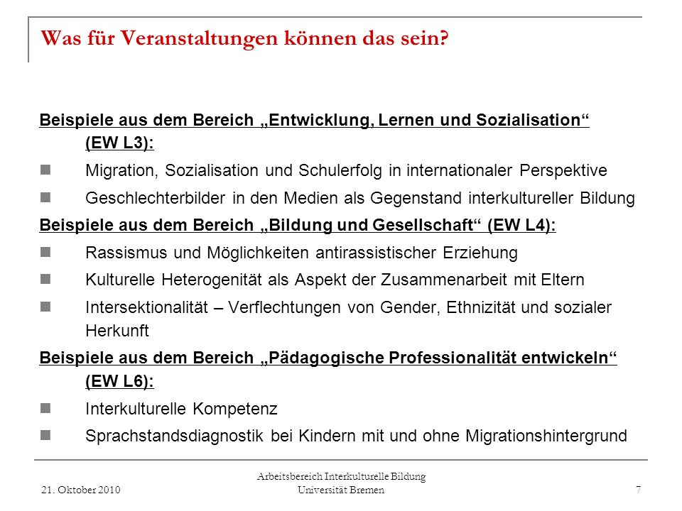 Zertifikat Interkulturelles Lernen in der Schule - Ansprechpersonen - 21.