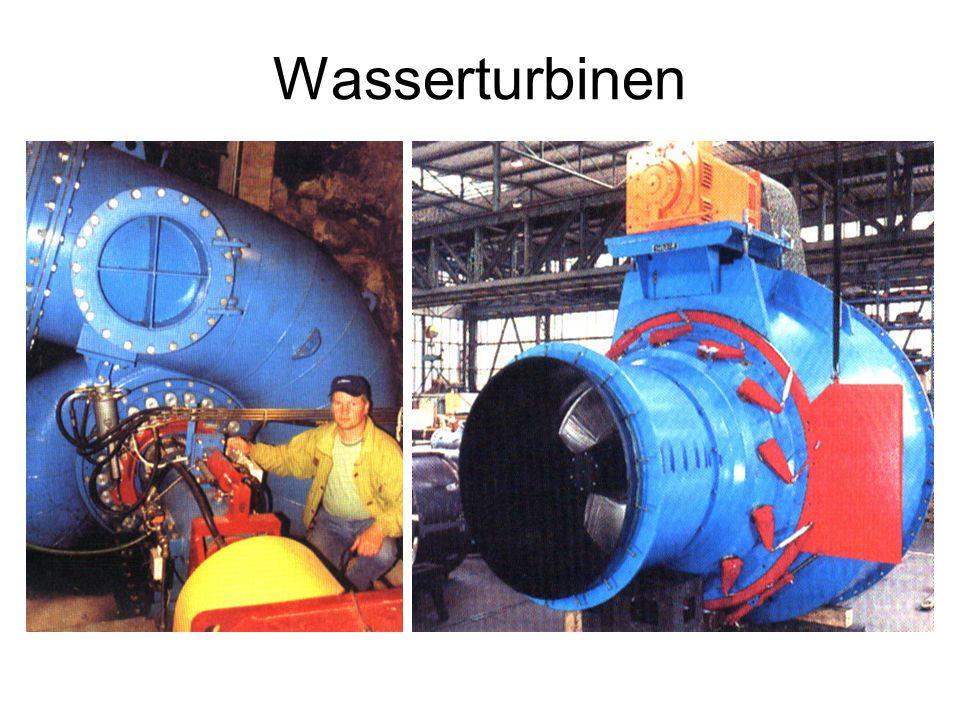 Wasserturbinen