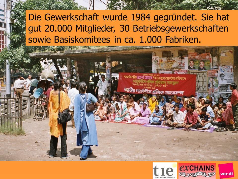 Die Gewerkschaft wurde 1984 gegründet. Sie hat gut 20.000 Mitglieder, 30 Betriebsgewerkschaften sowie Basiskomitees in ca. 1.000 Fabriken.