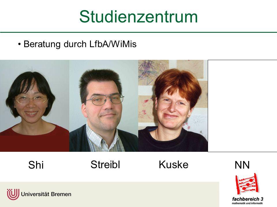 Studienzentrum Beratung durch LfbA/WiMis StreiblKuske ShiNN