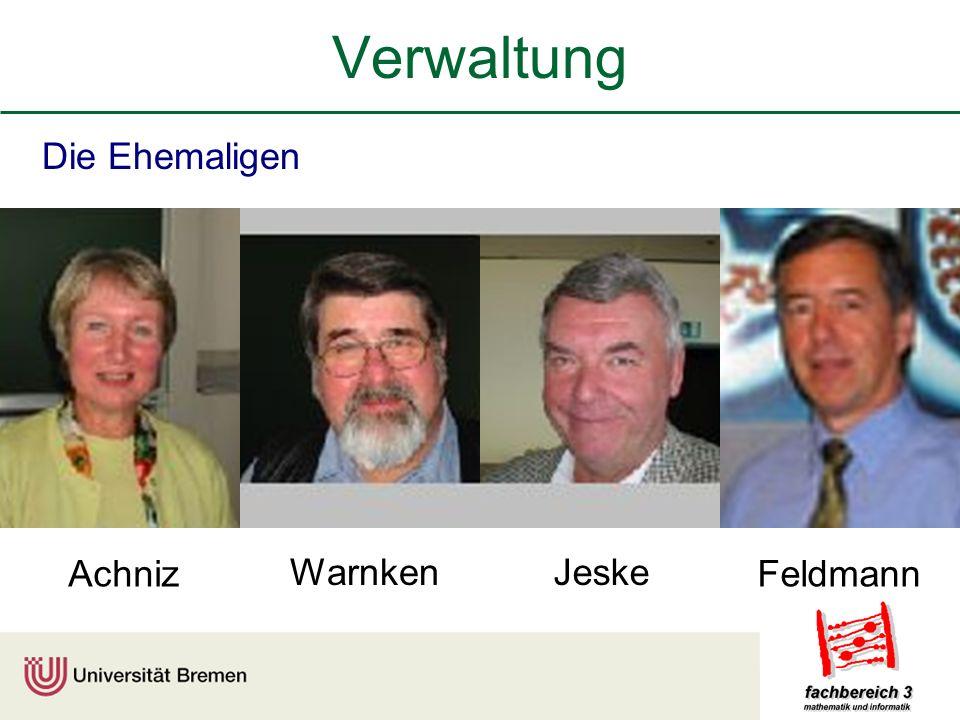 Verwaltung Die Ehemaligen WarnkenJeske AchnizFeldmann