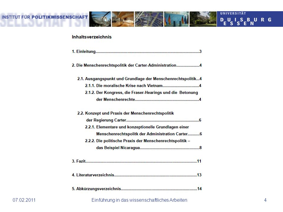 Harvard-Zitation Einführung in das wissenschaftliches Arbeiten2507.02.2011 Autor, Jahr auch bei Internetlinks