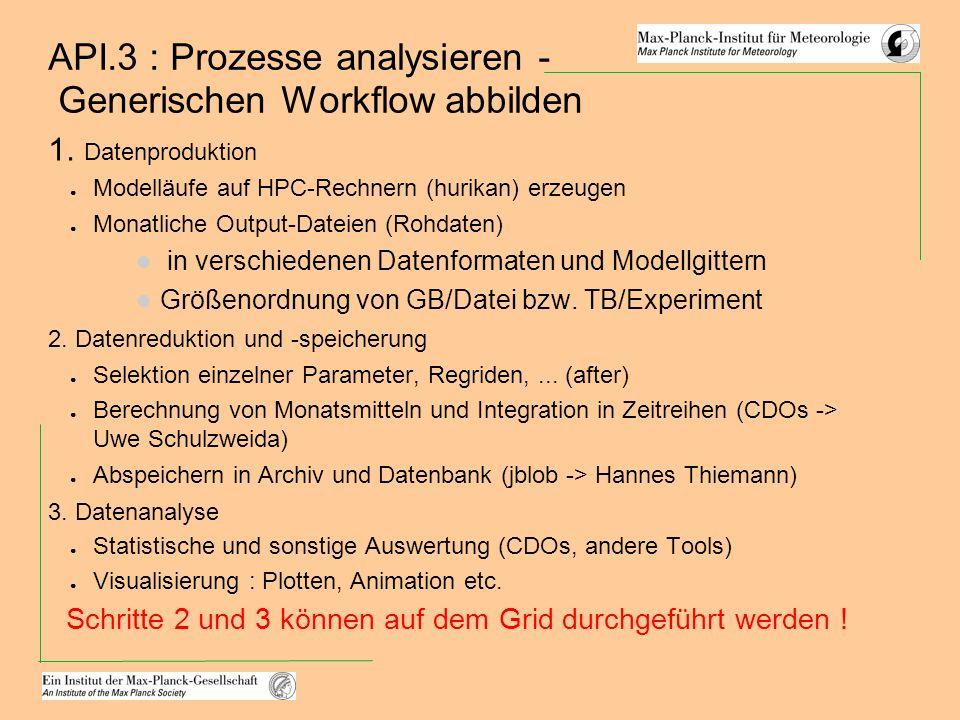 API.3 : Prozesse analysieren - Generischen Workflow abbilden 1.