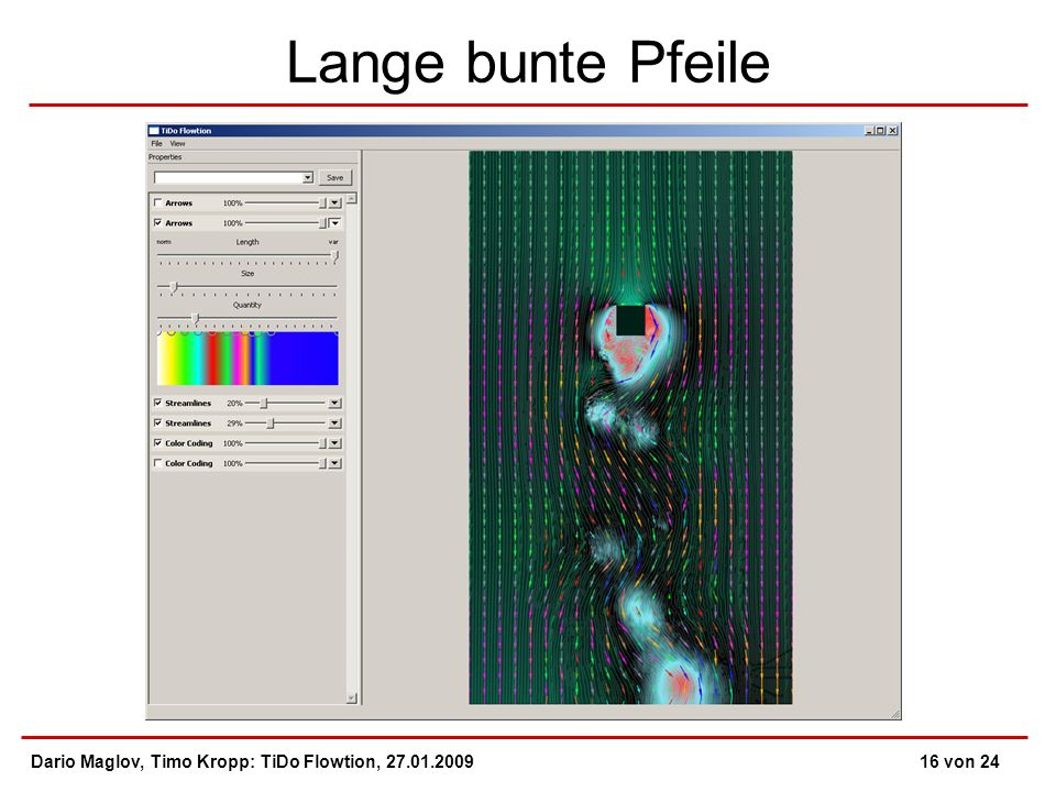 Lange bunte Pfeile Dario Maglov, Timo Kropp: TiDo Flowtion, 27.01.200916 von 24