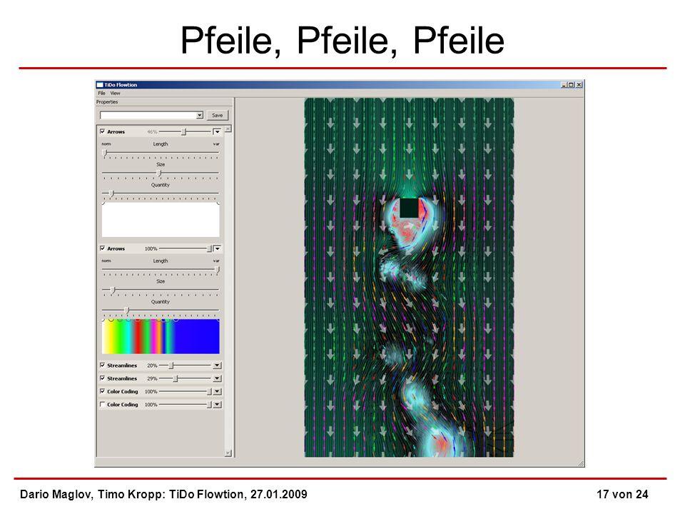 Pfeile, Pfeile, Pfeile Dario Maglov, Timo Kropp: TiDo Flowtion, 27.01.200917 von 24