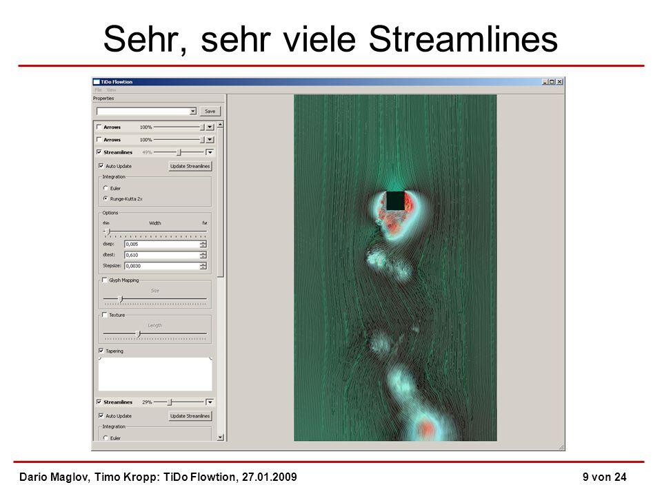 Sehr, sehr viele Streamlines Dario Maglov, Timo Kropp: TiDo Flowtion, 27.01.20099 von 24
