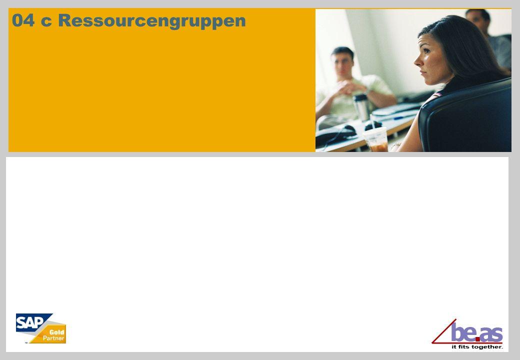 © beas group 2011 / Page 22 Ressourcengruppen Maschinengruppen: Feinplanung In der graphischen Ansicht wird die Arbeitsfolge auf die Planungsressource eingelastet (Grobplanung, also Zeitreservierung über Tagespool).
