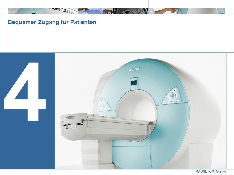 MAGNETOM Avanto Exit 4 Bequemer Zugang für Patienten