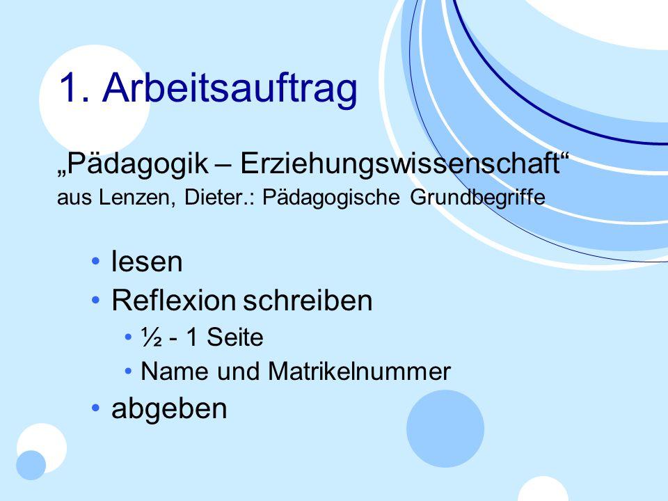 Vorschau Infoveranstaltung Di.16.10. um 19 Uhr MR 33.0.010 (Wall) www.igpaed.info Nächstes TUT Mo.