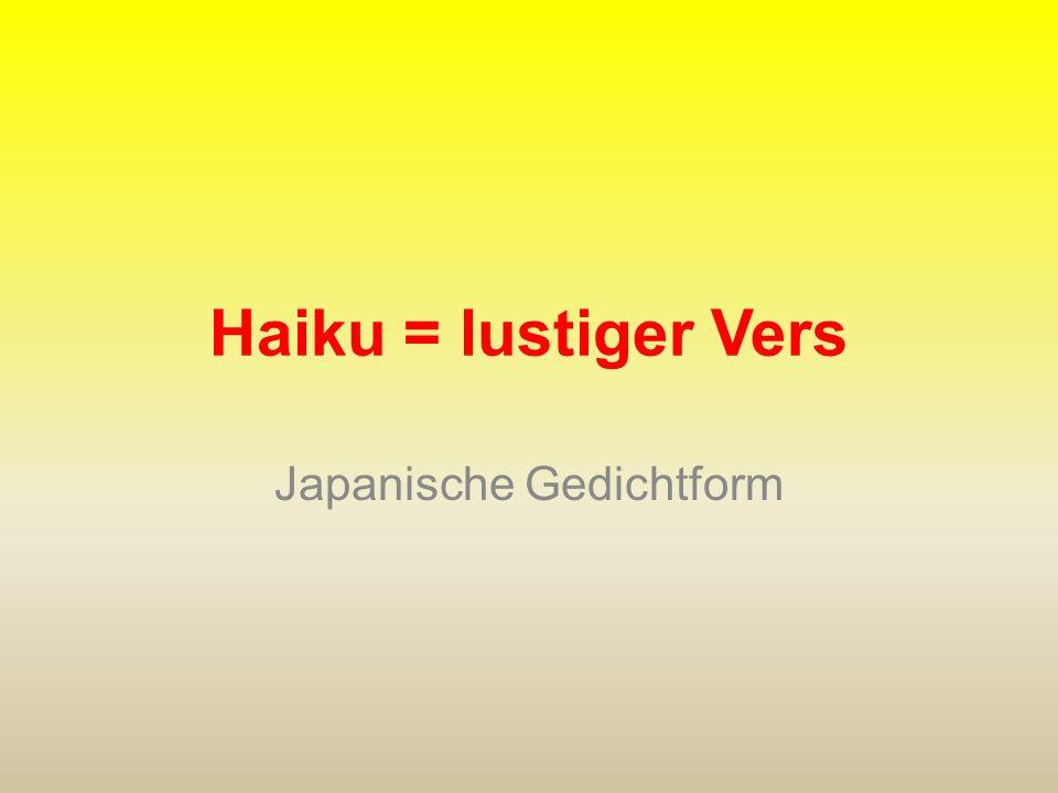 Merkmale des Akrostichons die Anfangsbuchstaben der einzelnen Zeilen ergeben von oben nach unten gelesen ein Wort zu einem bestimmten Thema Beispiel: