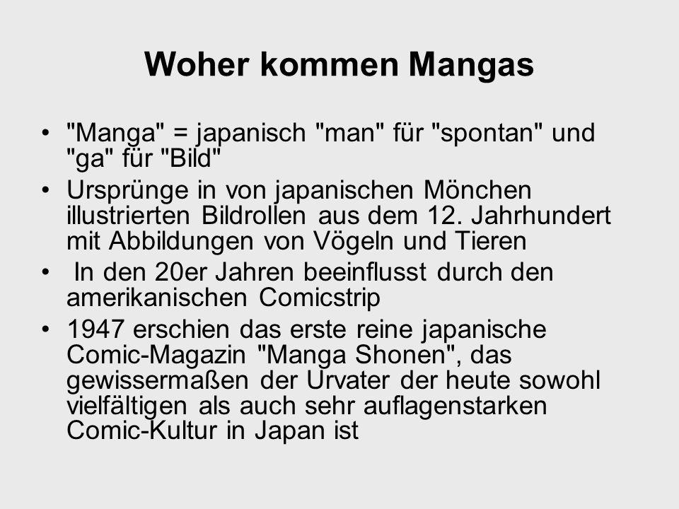 Woher kommen Mangas