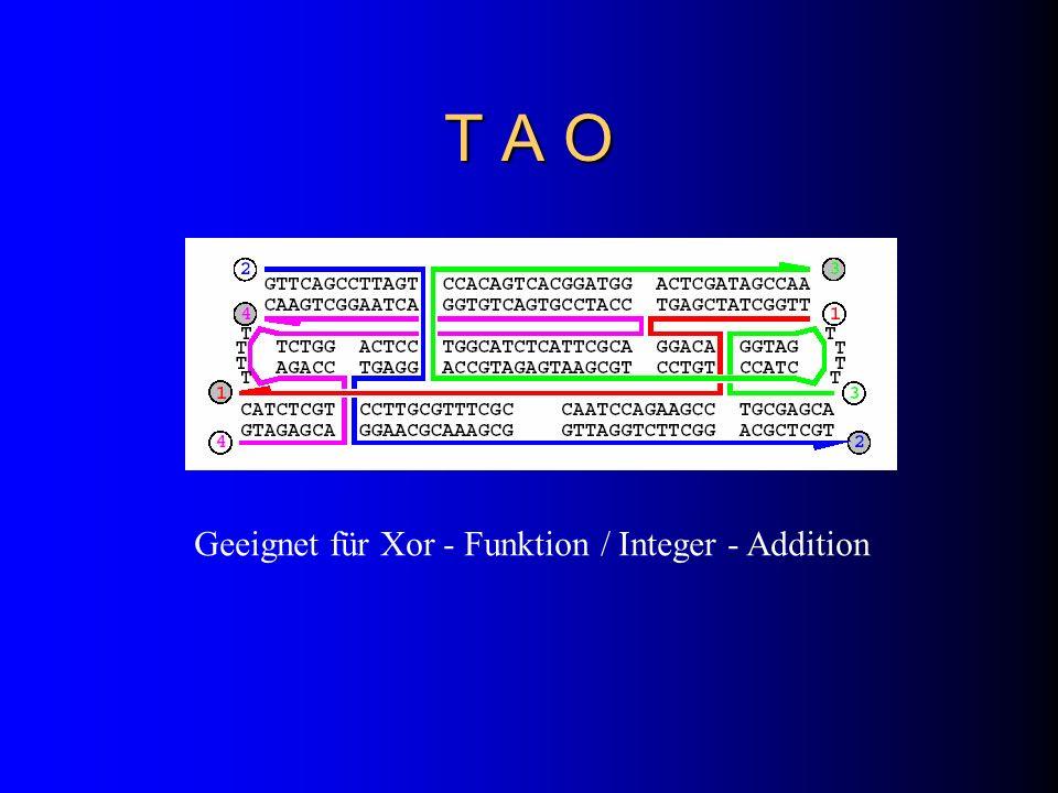 T A O Geeignet für Xor - Funktion / Integer - Addition