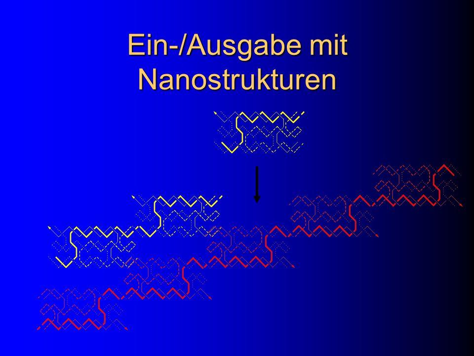 Ein-/Ausgabe mit Nanostrukturen
