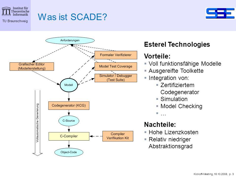 TU Braunschweig Kickoff-Meeting, 16.10.2008, p. 3 Was ist SCADE.