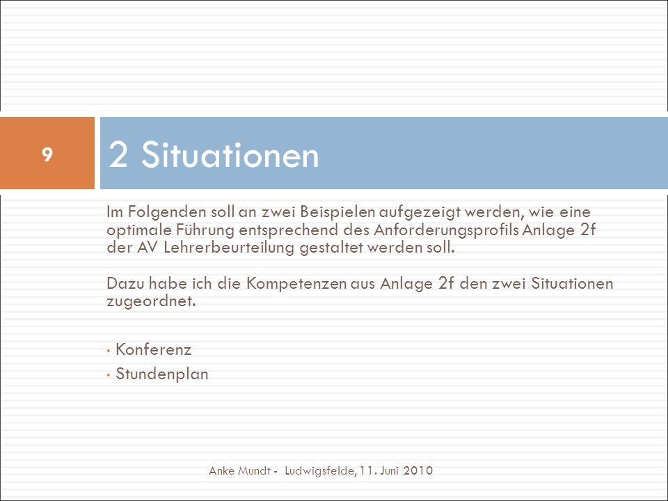 2 Situationen Anke Mundt - Ludwigsfelde, 11.