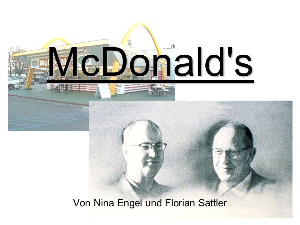 Inhalt Unternehmensgeschichte Unternehmensstruktur Statusentwicklung Big Mac Index