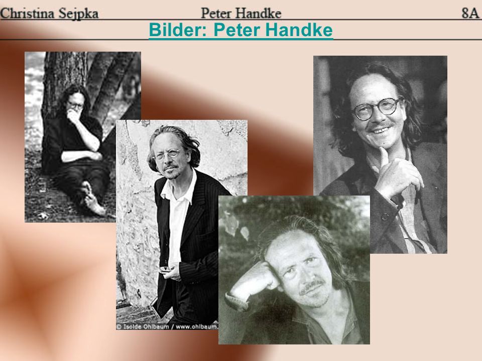 Bilder: Peter Handke