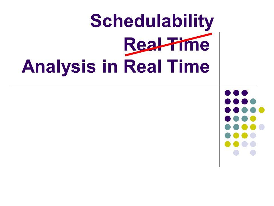 Komplexe minD Probleme Abschätzen Berechne Busy-Window Busy-Window = Initialwert Mehr Preemptions.