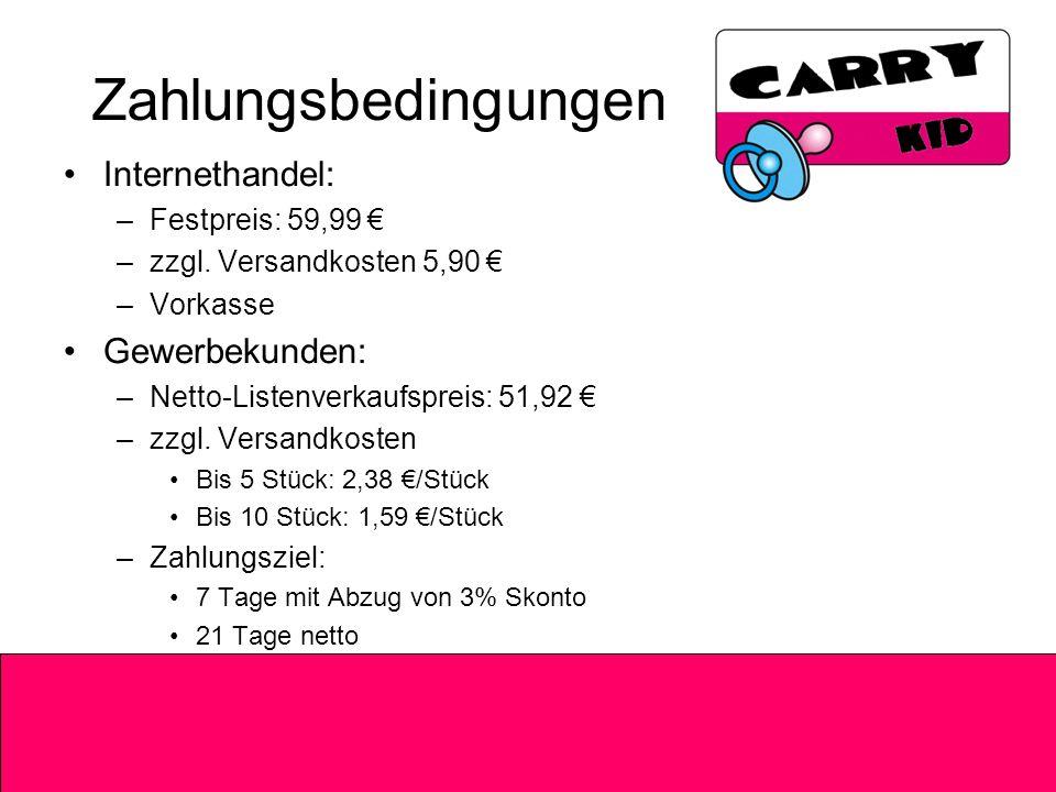 Zahlungsbedingungen Internethandel: –Festpreis: 59,99 –zzgl.