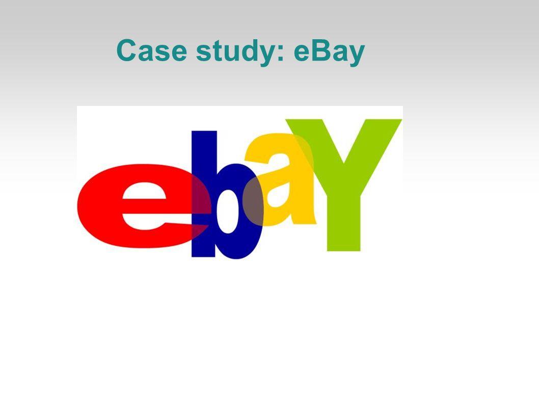 Case study: eBay