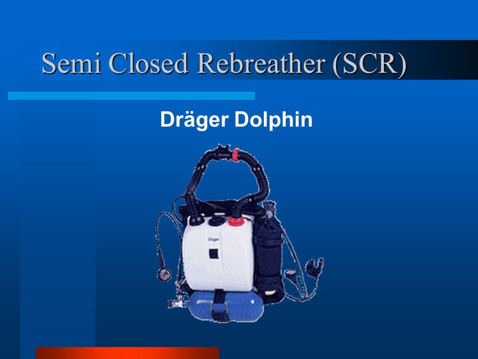 Semi Closed Rebreather (SCR) Dräger Dolphin