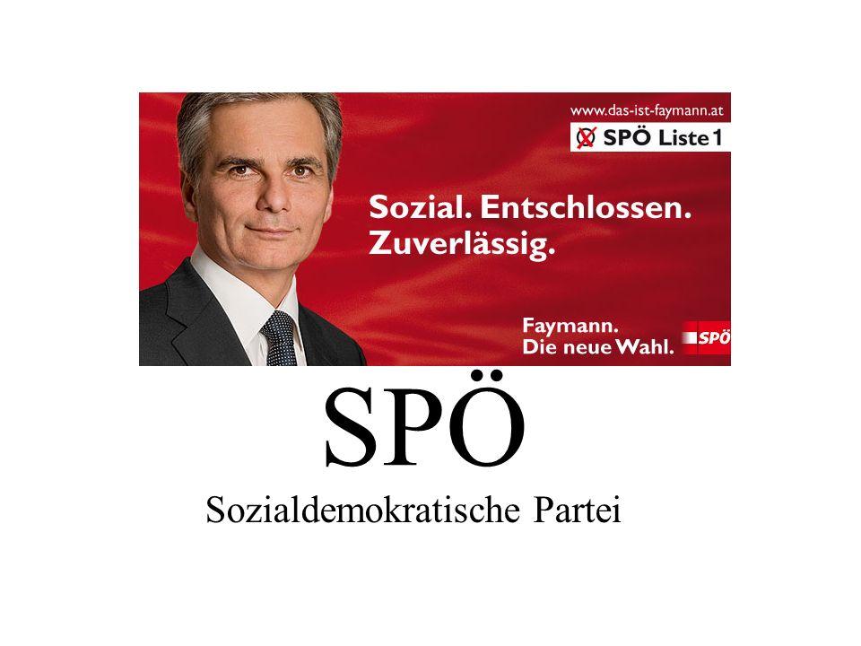 SPÖ Sozialdemokratische Partei