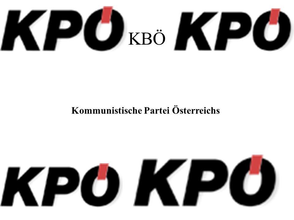 KBÖ Kommunistische Partei Österreichs