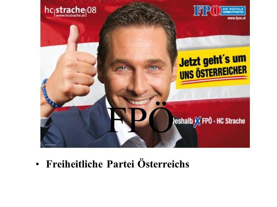 FPÖ Freiheitliche Partei Österreichs